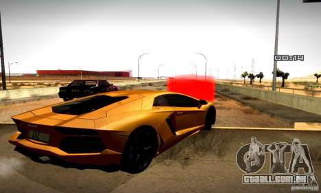 Drag Track Final para GTA San Andreas sexta tela