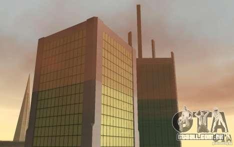 Arranha-céus em San Fierro para GTA San Andreas por diante tela