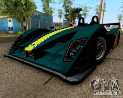 Caterham Lola SP300R para GTA San Andreas vista direita