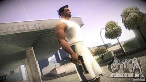 Weapon Pack by GVC Team para GTA San Andreas sexta tela
