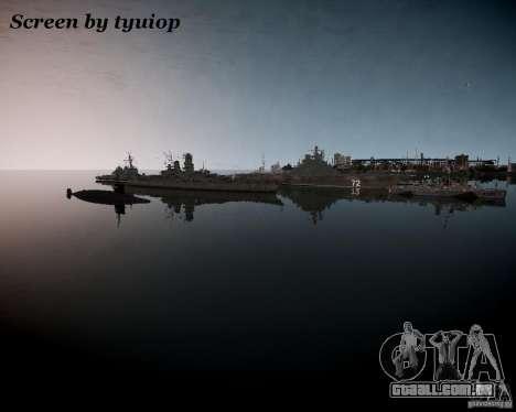 Marinha para GTA 4 terceira tela