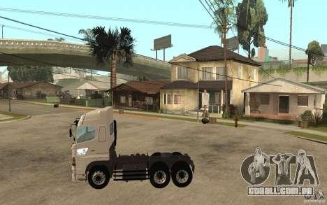 Hino 700 Series para GTA San Andreas esquerda vista