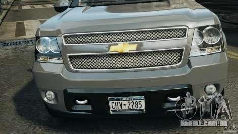 Chevrolet Suburban GMT900 2008 v1.0 para GTA 4 interior