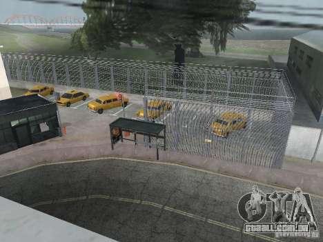 O primeiro táxi Parque versão 1.0 para GTA San Andreas segunda tela