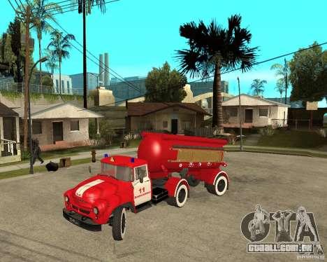 O caminhão de bombeiros AB-6 (130В1) para GTA San Andreas