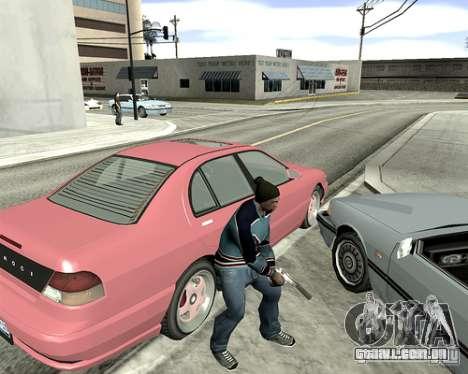 Tampa do sistema para GTA San Andreas sexta tela