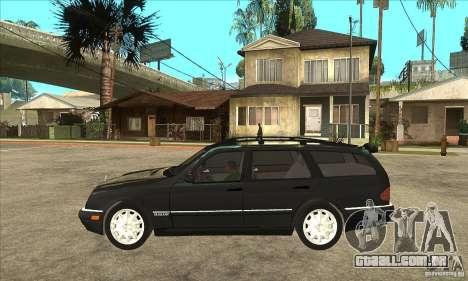 Mercedes-Benz W210 E320 1997 para GTA San Andreas esquerda vista