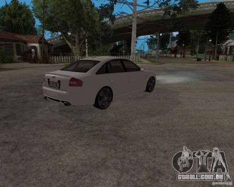 Audi RS6 (A6) para GTA San Andreas vista direita