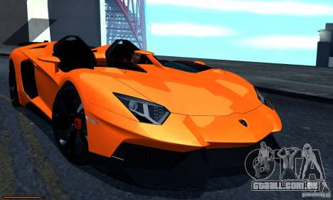 Lamborghini Aventador J para GTA San Andreas