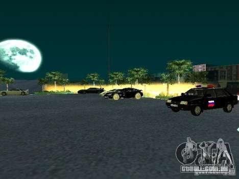 Novo showroom em San Fierro para GTA San Andreas por diante tela