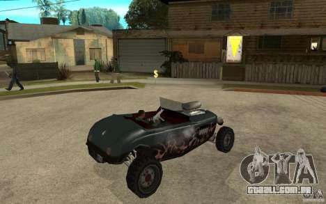 Deuce Brutal Legend para GTA San Andreas vista direita