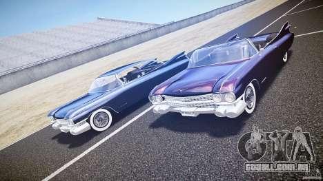 Cadillac Eldorado 1959 interior black para GTA 4