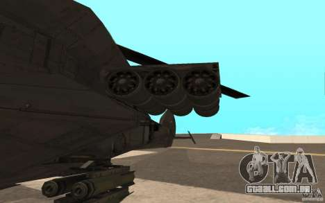 MQ Drone from BO2 para GTA San Andreas esquerda vista