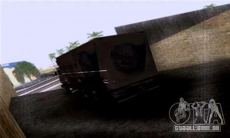 Volvo F10 para GTA San Andreas esquerda vista