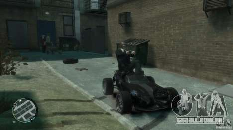 Banshee Go Kart para GTA 4 esquerda vista
