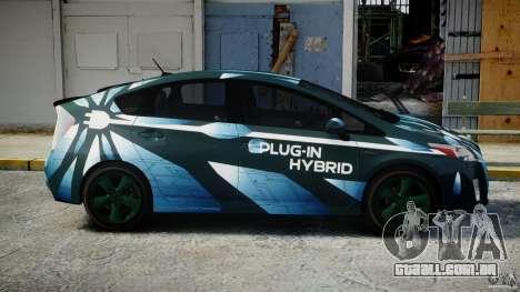 Toyota Prius 2011 PHEV Concept para GTA 4 vista interior