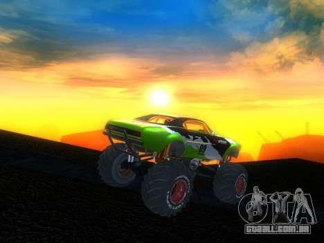 Fire Ball para GTA San Andreas esquerda vista