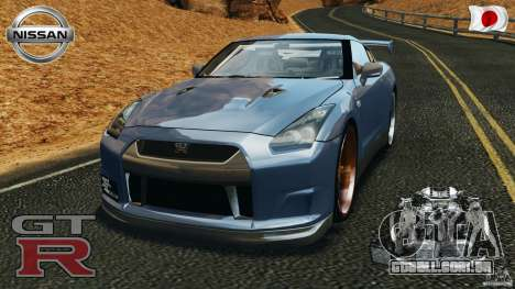 Nissan GT-R 35 rEACT v1.0 para GTA 4