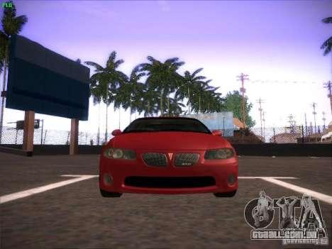 Pontiac FE GTO para GTA San Andreas esquerda vista