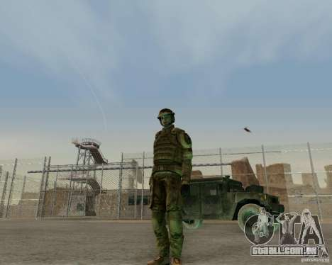 Tom Clancys Ghost Recon para GTA San Andreas terceira tela