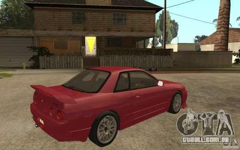 Nissan GTS-T 32 Beta para GTA San Andreas vista direita