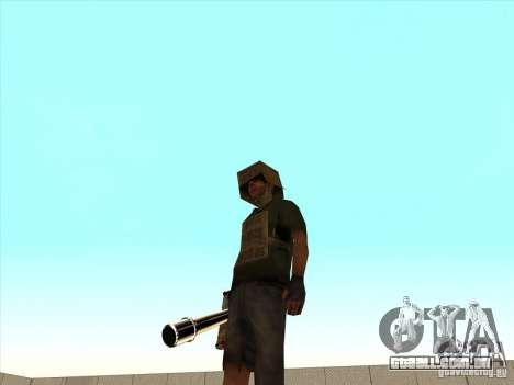New Weapons Pack para GTA San Andreas quinto tela