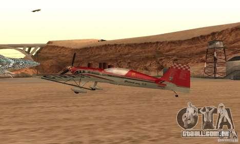Extra 300L para GTA San Andreas esquerda vista