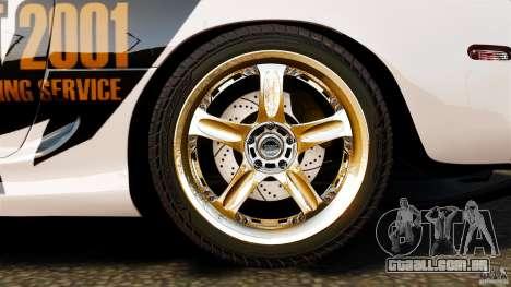 Toyota Supra Top Secret para GTA 4 vista superior