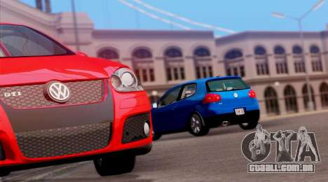 VW Golf V GTI 2006 para GTA San Andreas vista direita