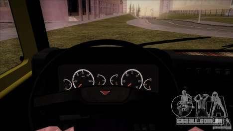 KAMAZ 5460 Restyling para GTA San Andreas vista traseira