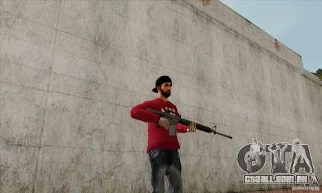 Substituto de pele Bmyst para GTA San Andreas segunda tela