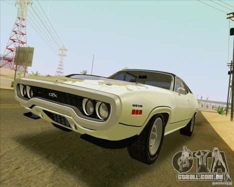 New Playable ENB Series para GTA San Andreas sexta tela