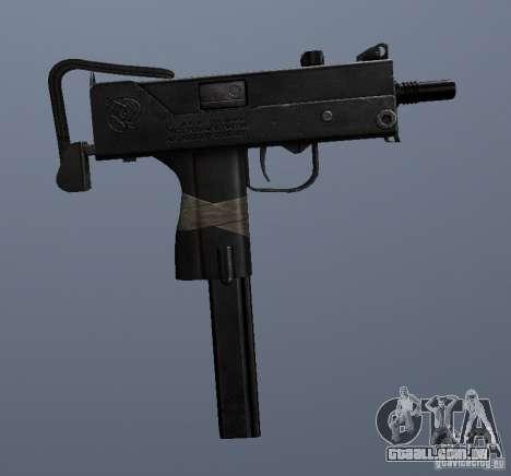 MAC10 para GTA San Andreas por diante tela