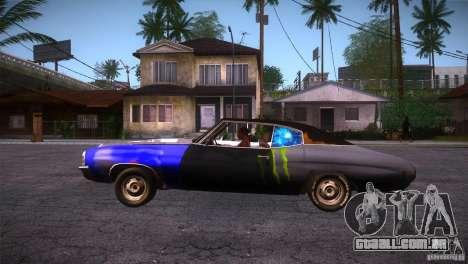 Chevrolet Chevelle SS DC para GTA San Andreas esquerda vista
