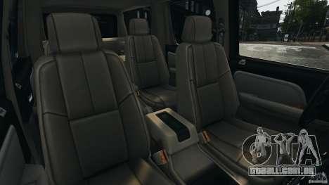 Chevrolet Suburban GMT900 2008 v1.0 para GTA 4 vista interior