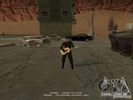 Soldados do exército russo para GTA San Andreas terceira tela