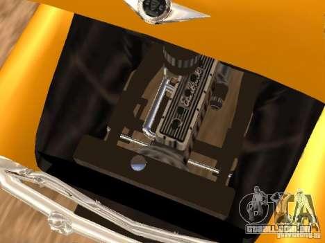 Checker Marathon Yellow CAB para GTA San Andreas vista traseira