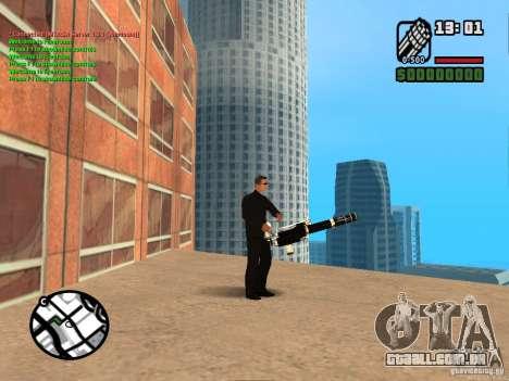 Gun Pack by MrWexler666 para GTA San Andreas sexta tela