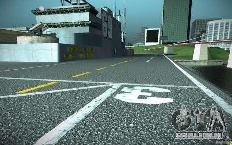 Porta-aviões V2 Final para GTA San Andreas terceira tela