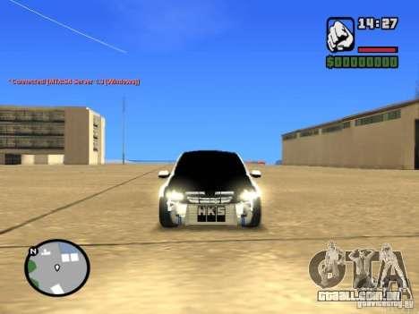 Estilo de Grant JDM 2190 VAZ para GTA San Andreas vista direita