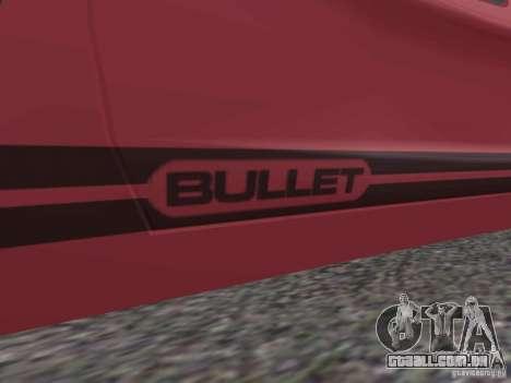 Bullet HQ para GTA San Andreas esquerda vista