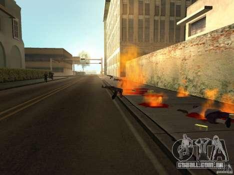 Armas nacional-versão 1.5 para GTA San Andreas