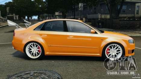 Audi RS4 EmreAKIN Edition para GTA 4 esquerda vista