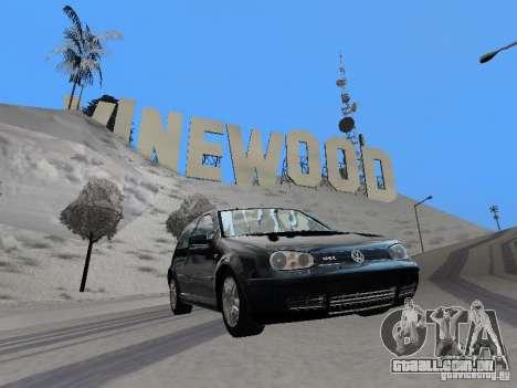 Volkswagen Golf 4 GTI para GTA San Andreas