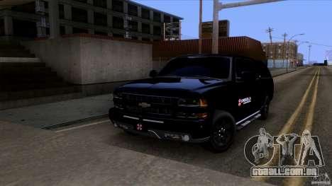 Chevrolet Suburban 2003 v2 para GTA San Andreas esquerda vista