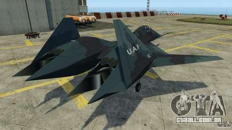 ADF-01 Falken para GTA 4 traseira esquerda vista