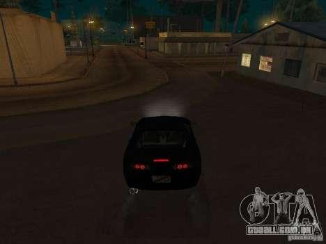 Toyota Supra MKIV para GTA San Andreas vista direita