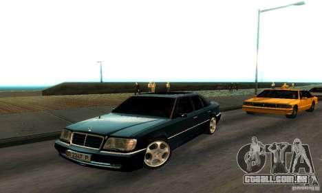 Mercedes-Benz W124 E420 AMG para GTA San Andreas esquerda vista
