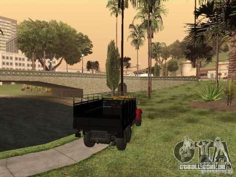 YAZ 214 para GTA San Andreas esquerda vista