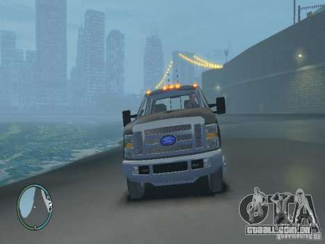 Ford F-350 2008 v2.0 para GTA 4 vista lateral